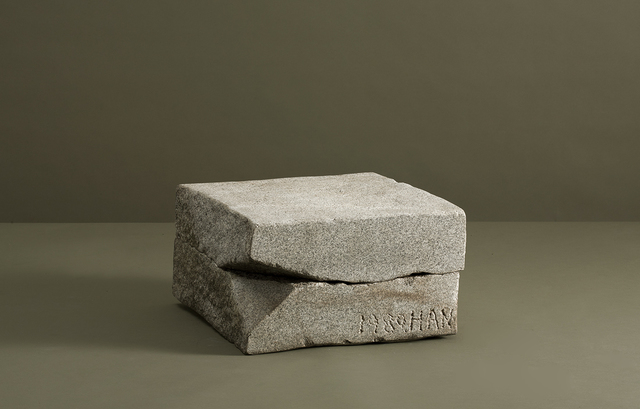 , 'Two Pieces of Granite,' 1980, Maison Gerard