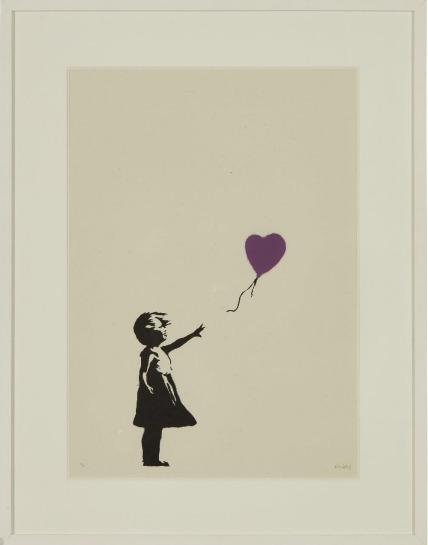 Banksy, 'Girl With Balloon ', 2004, Nine Way Fine Art
