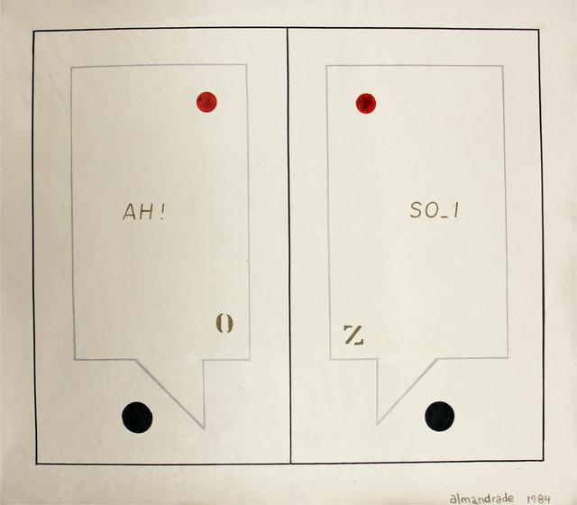 , 'Diálogo,' 1984, Roberto Alban Galeria de Arte