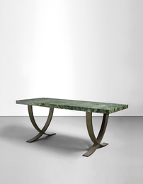 Important and rare dining table