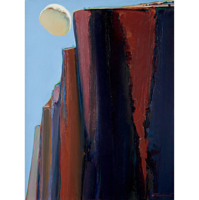 , 'Cloud and Bluffs,' 1972, Allan Stone Projects