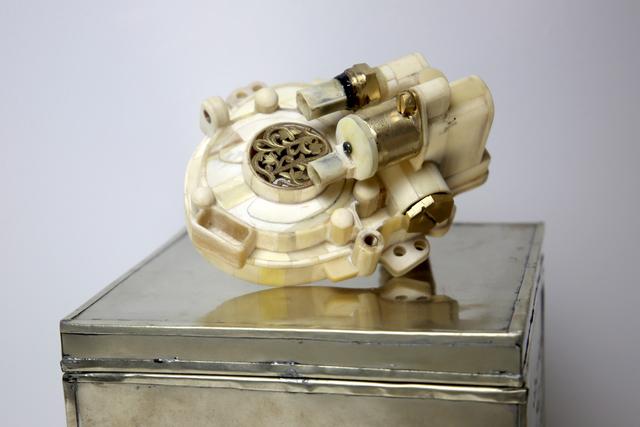 , 'V12 Laraki Camshaft Cogwheel Cover,' 2013, Richard Taittinger Gallery