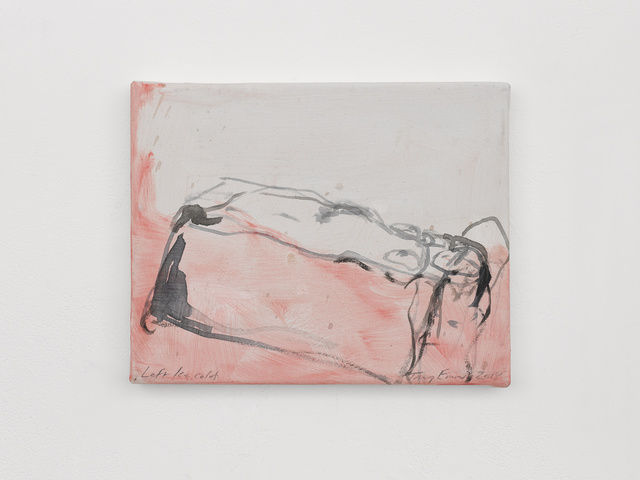 Tracey Emin, 'Left Ice cold', 2018, White Cube