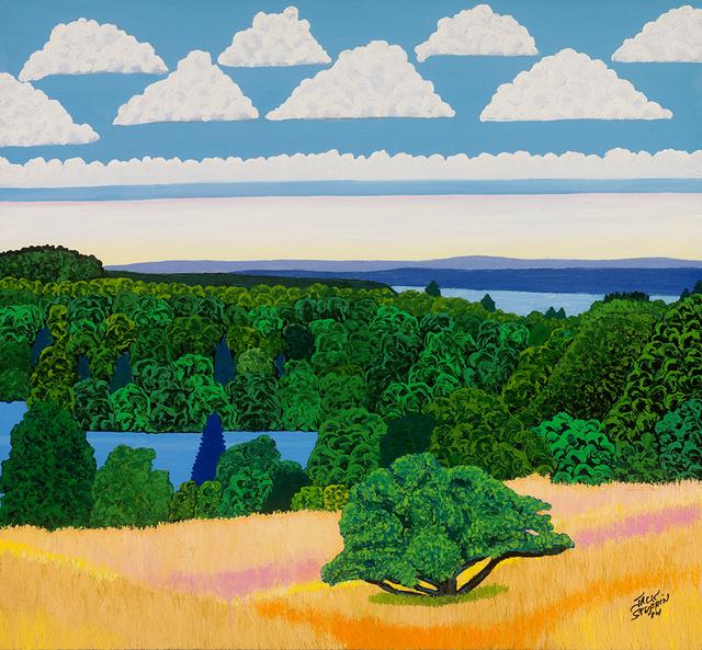 , 'Olana Pond Hudson River,' 2014, ACA Galleries