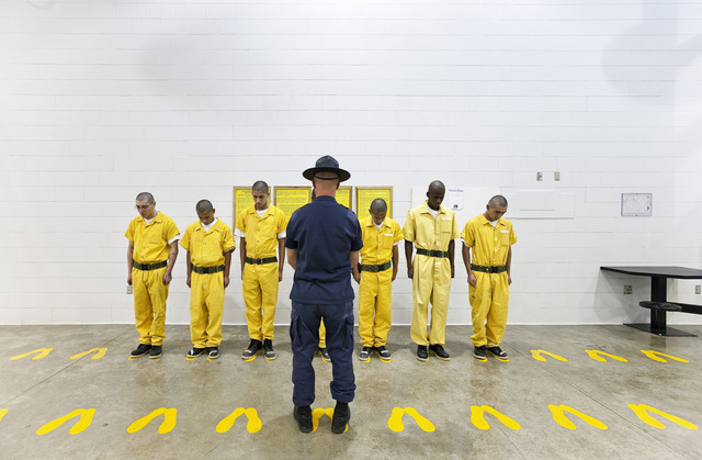 , 'Orientation Training Phase,Youth Offender System, Pueblo, Colorado,' 2010, Ronald Feldman Gallery