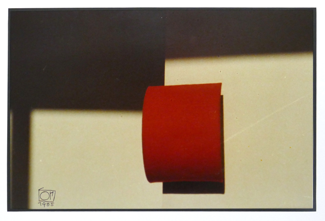 , 'Rote Rolle,' 1985, SMUDAJESCHECK