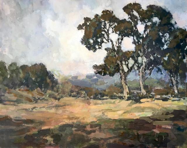 , 'Light and Shadow Montecito,' 2018, Pauline Johnson-Brown