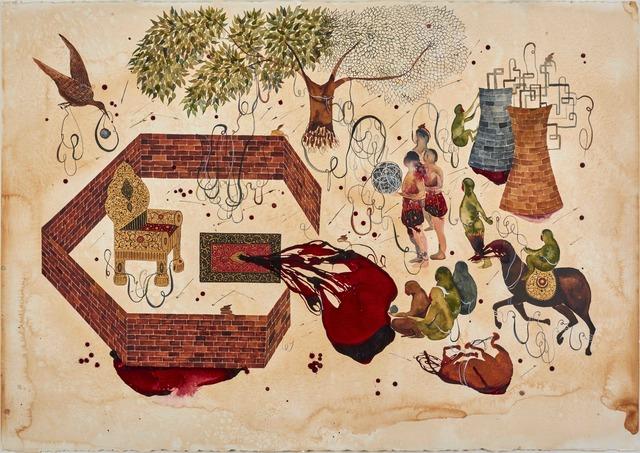 , 'The Mesh,' 2016, Leila Heller Gallery