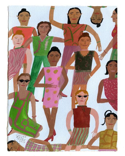 , 'Capote's Girls,' 2019, ZINC contemporary