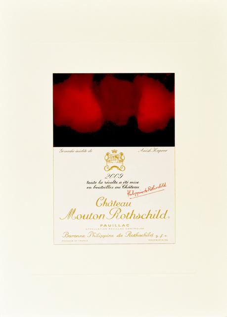 , 'Gouache inedite de Anish Kapoor,' 2009, Fairhead Fine Art Limited