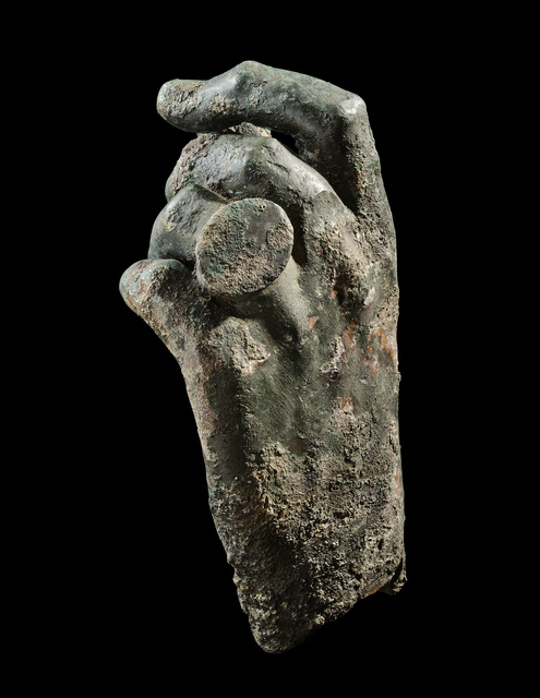 , 'LEFT HAND OF A MAN WEARING A RING,' ca. 1st -2nd century A.D., Phoenix Ancient Art