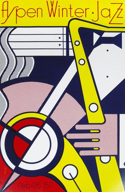 , 'Aspen Winter Jazz Poster,' 1967, Robert Fontaine Gallery
