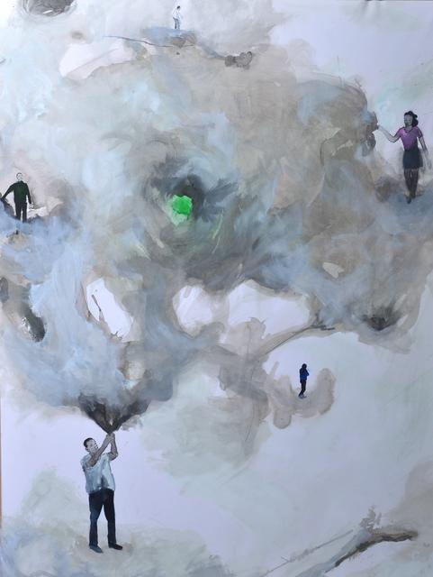 , 'Escapades I,' 2015, Ed Cross Fine Art