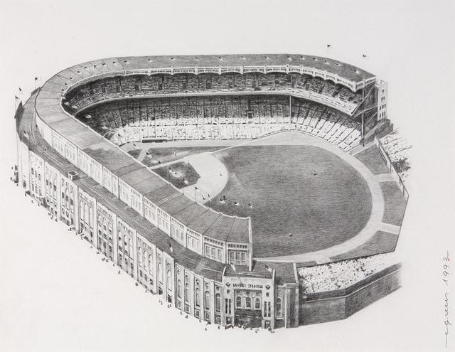 , 'Yankee Stadium,' 1992, Dowling Walsh
