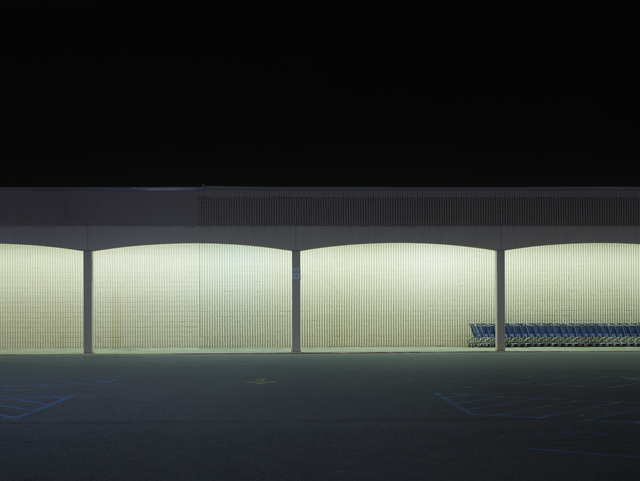 , 'Blue Carts, Baton Rouge, Louisiana,' 2014, Galerie Nikolaus Ruzicska