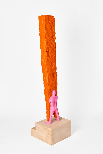Clive van den Berg, 'Pink bearing orange', 2016, Goodman Gallery