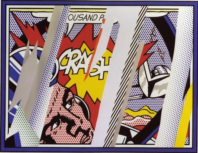 Roy Lichtenstein, ' Reflections Series: Reflections on Crash', 1990, Coskun Fine Art