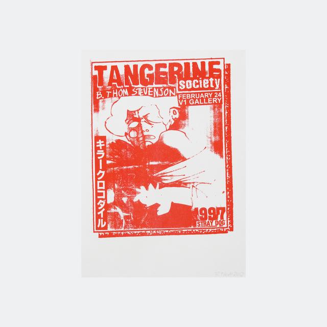 B. Thom Stevenson, 'Tangerine Society (red)', 2017, V1 Gallery