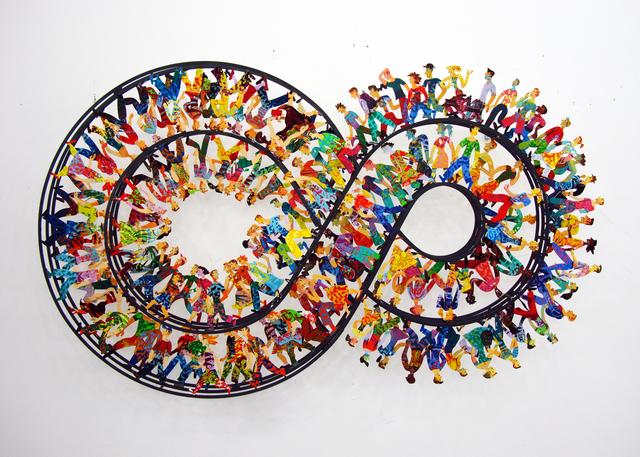 David Gerstein, 'ENDLESS WALK無盡之旅', 2010, Installation, Aluminum鋁 3層, Artrue Gallery
