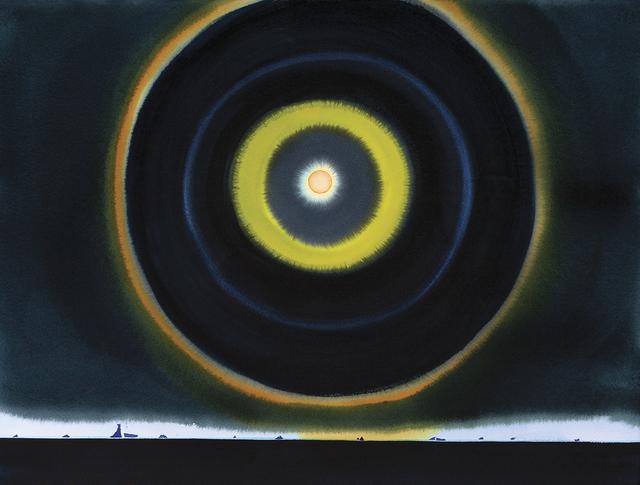 , 'Halo, Antarctica, 10PM,' , Dowling Walsh