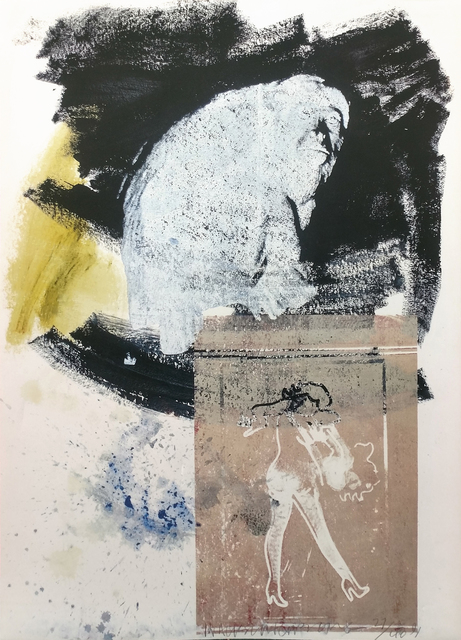 Robert Rauschenberg, 'POISE', 1991, Print, OFFSET LITHOGRAPH PRINTED IN COLORS, Gallery Art