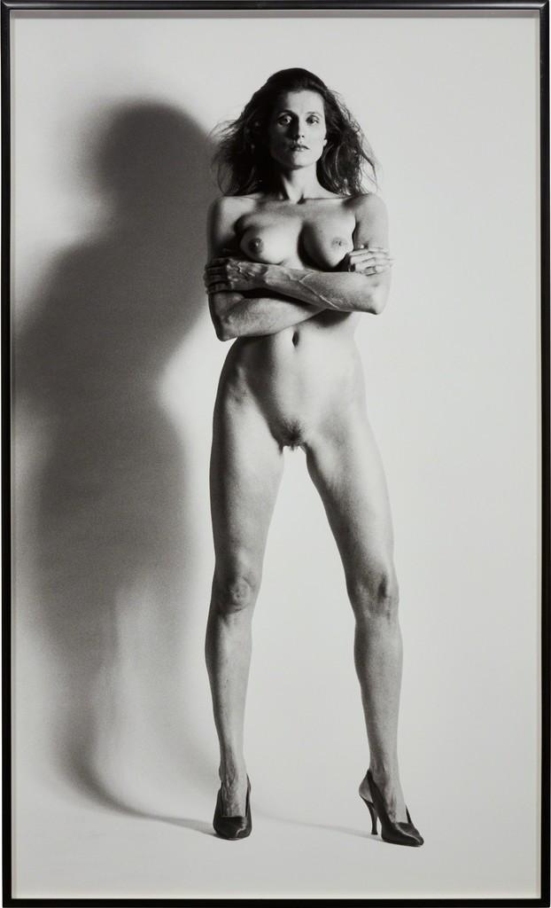 Helmut Newton | Big Nude VII, Nancy La Scala, Monte-Carlo ...