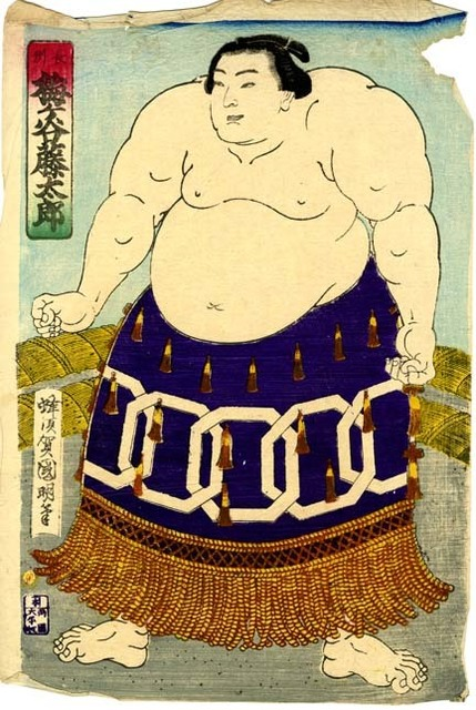 , 'Sumo Wrestler Umegatani Tōtarō I (1845-1928) The 15th Grand Champion (Yokozuna) ,' 1868-1912, Newark Museum
