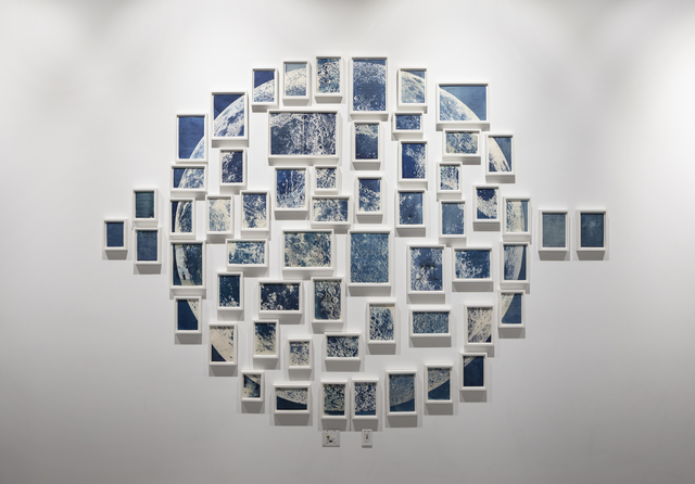 , 'Thirty-six Views of the Moon,' 2018, McEvoy Foundation for the Arts