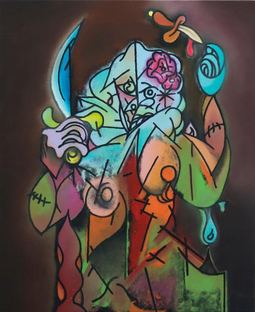 Rhys Lee, 'The Juggler', 2019, Painting, Oil on canvas, Ruttkowski;68
