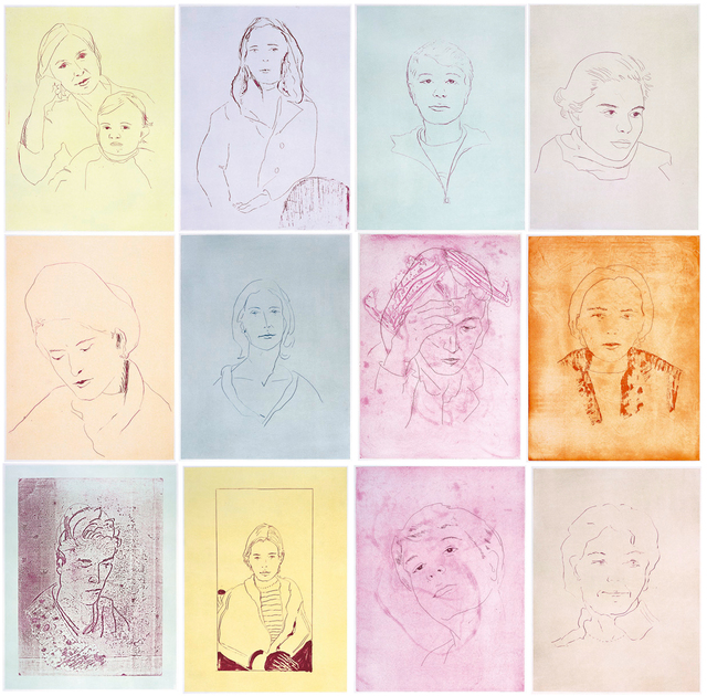 , '12 Portraits,' 2009, Carolina Nitsch Contemporary Art