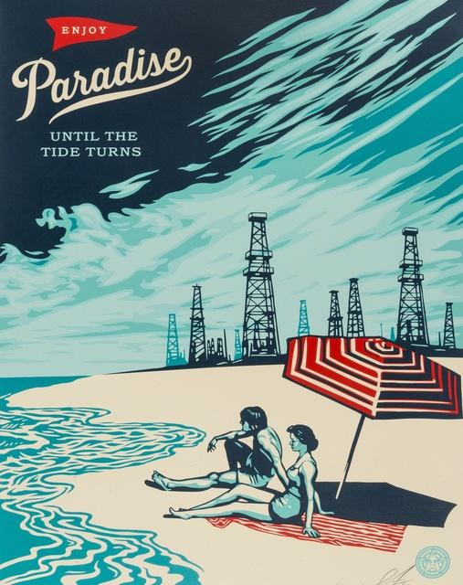 Shepard Fairey (OBEY), 'Paradise', 2014, Forum Auctions