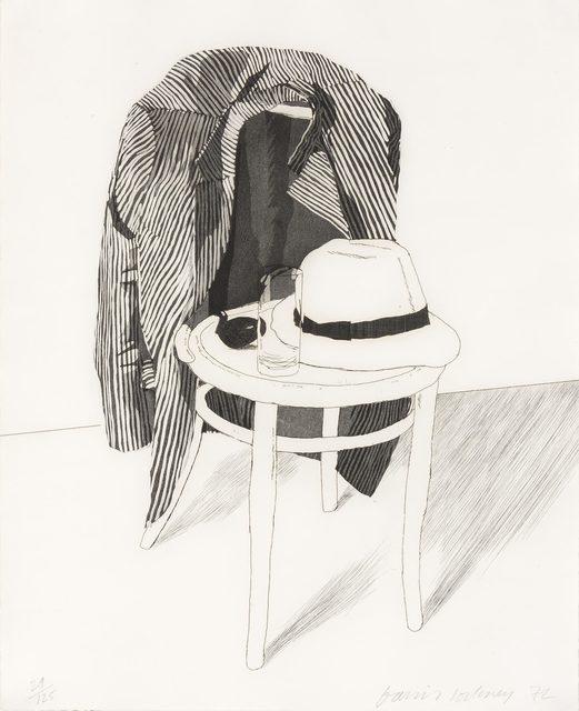 David Hockney, 'PANAMA HAT (S.A.C. 127; M.C.A.T. 119)', 1972, Doyle