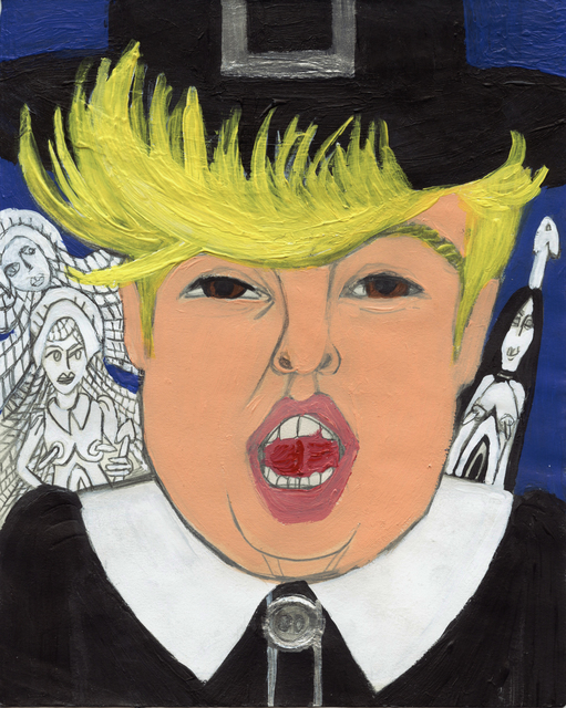, 'Ghost Bitch U.S.A.: Pompadour Pilgrim,' 2016, Freight + Volume