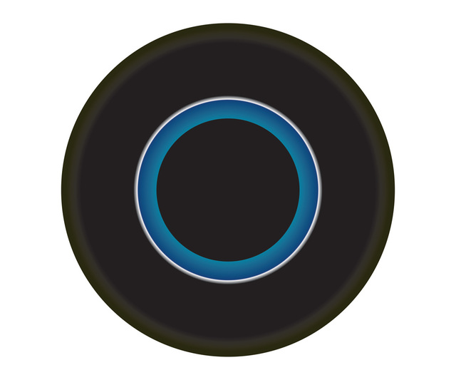 , 'Black and Blue Circle,' , ArtStar