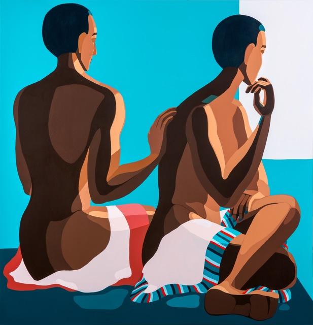, 'Couples Looking Outside,' 2019, Addis Fine Art