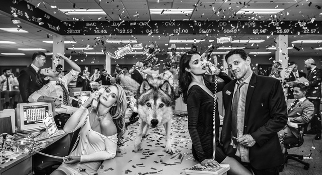 David Yarrow, 'The Wolves of Wall Street', 2019, Maddox Gallery
