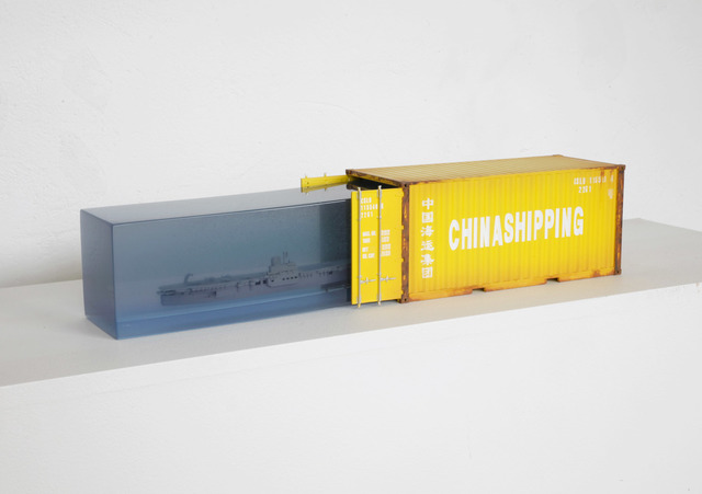 , 'Sobrecupo China Shipping,' 2018, LGM Arte Internacional
