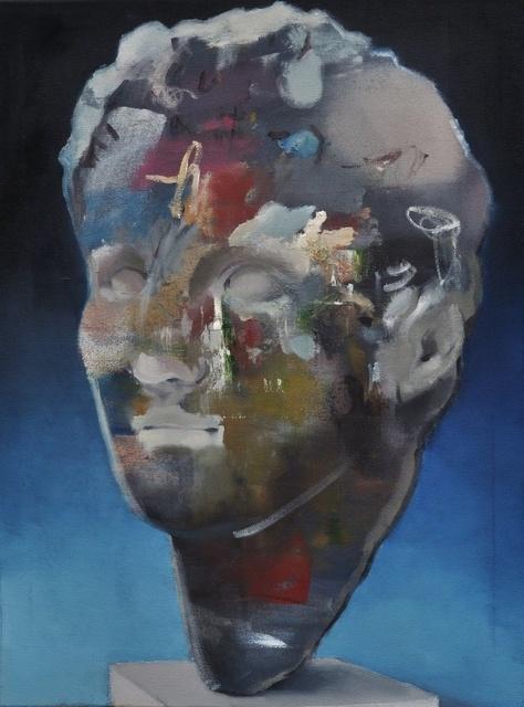, 'Abstrakte Philosophen XIX (das Zeichen),' 2018, Bode Gallery