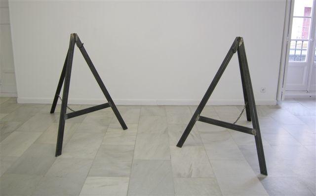 , '2x(127x123x100),' 2008, Galería Juana de Aizpuru
