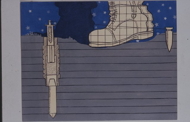 Antoni Miralda, 'Botas Bomba / Luna Llena #2 (izquierda)', 1965, Henrique Faria Fine Art