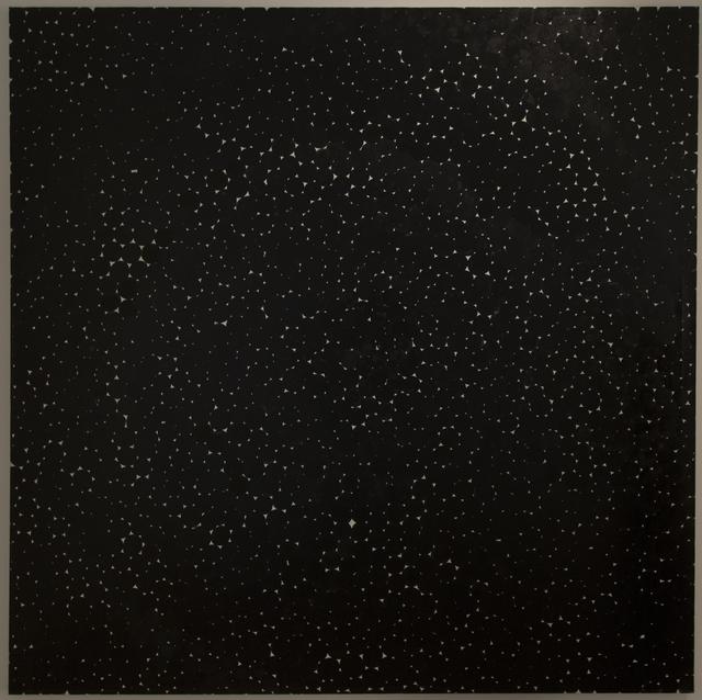 Daniel Orson Ybarra, 'Constellations black', 2018, Laurent Marthaler Contemporary