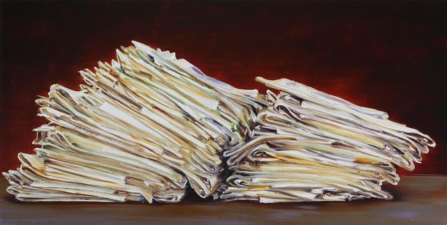 Cornelius Völker, 'Pile of Newspapers', 2017, Hosfelt Gallery
