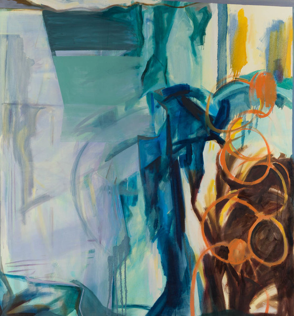 Charlotte Edsell, 'Self Motion', 2015, Painting, Oil on canvas, Candida Stevens Gallery