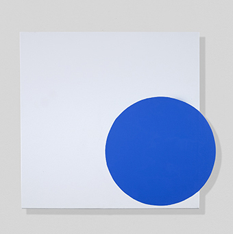 , 'Blue, On and Off,' 2018, Berry Campbell Gallery