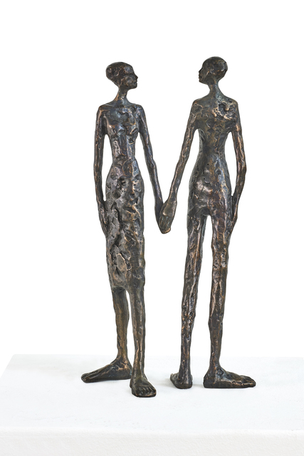 Tina Heuter, 'Together', 2018, Sculpture, Bronze, mianki.Gallery