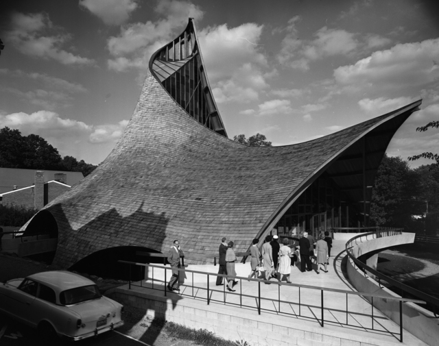 , 'United Church of Rowayton, Rowayton, Connecticut (Joseph P. Salerno, Architect),' 1962, Edward Cella Art and Architecture
