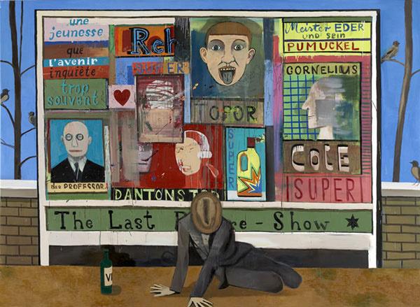 , 'Plakatwand,' 2005, G2 Kunsthalle