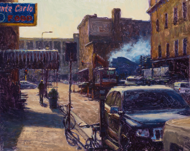 , 'Hoyts Smoker,' 2017, Susan Calloway Fine Arts