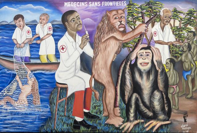 , 'Médecins sans frontières ,' 2016, Africa Bomoko