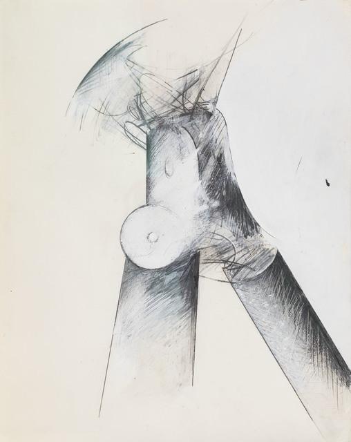 , 'Untitled (Tripod),' 1976, Michael Rosenfeld Gallery